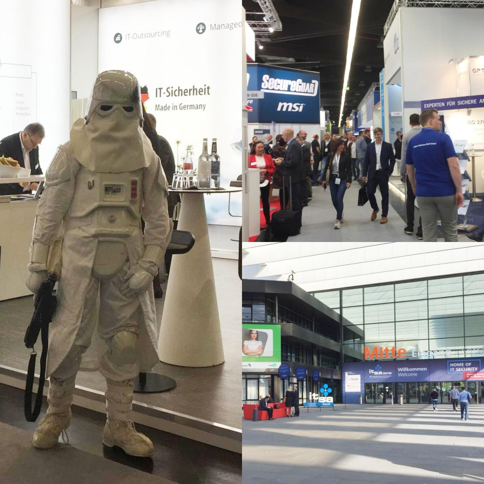 IT-SA Nürnberg 2018 Messe Impression